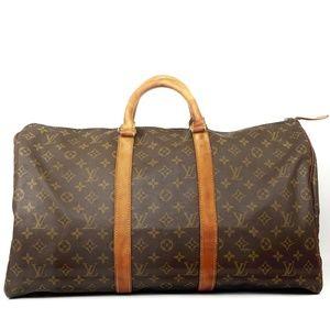 Auth Louis Vuitton Keepall 50 Travel Bag #2267L22